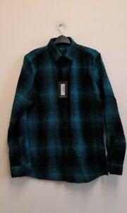 Boohooman Men's Long Sleeve Flannel Check Shirtsize M {Z166}