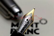 Montblanc Solitaire Doue Füller Stainless Steel Edelstahl 18 kt. F-Feder