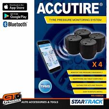 Accutire Tyre Pressure Bluetooth Monitoring System Set of 4 MS-4388GB CAR BIKE