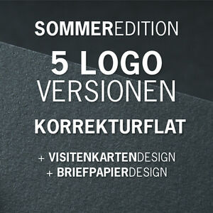 SpecialEdition Firmenlogo, Logodesign, Korrekturflat, 5 Entwürfe