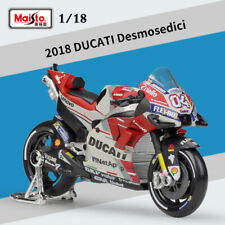 1:18 Motorcycle Model 2018 MotoGP DUCATI Desmosedici GP18 #04 Andrea Dovizioso