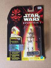 "Star Wars Episode 1 TPM The Phantom Menace BATTLE DROID ""STRIPE"" CommTalk Euro"