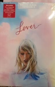 TAYLOR SWIFT - LOVER (JOURNAL VERSION 2) DELUXE [CD+BOOKLET] NEW & SEALED