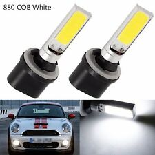 2X 880 893 H27W/1 Car COB LED Fog Driving Daytime Running Led Light Bright White