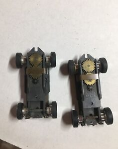 Aurora slim line chassis. ThunderJet HO Slotcar