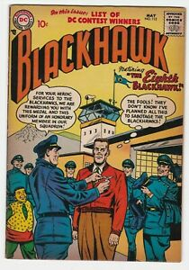 Blackhawk #112 VF 8.0 Adventure War Chop Chop Chuck Olaf Stan Andre Colonel 1957