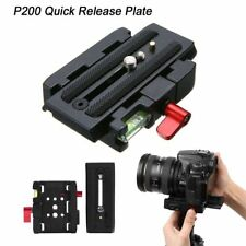 P200 Quick Release QR Clamp Base Plate for Manfrotto 500 AH 701 503 HDV 577 LJ