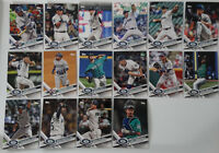 2017 Topps Update Seattle Mariners Team Set of 16 Baseball Cards