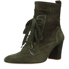Splendid Women's Hacken Leather Cushioned Insole Ankle-High Lace-Up Boot