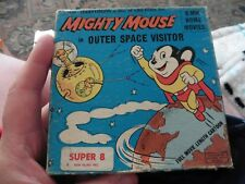 mighty mouse in outer space visitor Super 8 Untested 8MM 1966 rare