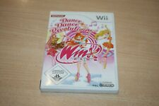 Dance DANCE REVOLUTION WINX CLUB (Nintendo Wii, 2009, DVD-BOX) come nuovo top USK 0
