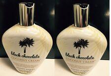 2 Black Chocolate Coconut Cream 200x Black Bronzer Tanning Lotion Brown Sugar
