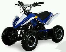 MINIQUAD 50 CC Avviamento Elettrico MINI BLU QUAD MOTO BAMBINI RACER STUPENDO!!