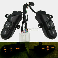Steering Wheel Audio Control Cruise Switch Button For Honda Civic 2006-2008