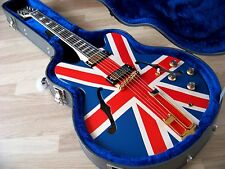 TPP Noel Gallagher Union Jack Epiphone Sheraton-Custom Oasis Tribute