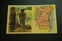 Vintage Cigarettes Card. British East Africa Protectorates. WORLD'S REGIONS