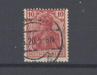 Dt. Reich Mi.Nr. 86 II f, 10 Pfg. Freimarke 1915 gestempelt, geprüft BPP (31005)