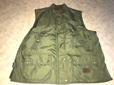 Men's ~LAUREN RL Green Vest~ Size Medium