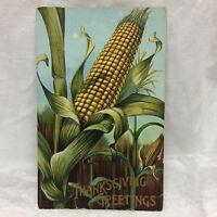 Vintage 1910 Thanksgiving Greeting Postcard