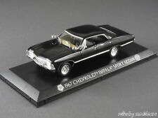 1/43 Greenlight CHEVROLET IMPALA SPORT SEDAN Supernatural 1967 NERO - 141628