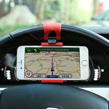 SUPPORTO PORTA CELLULARE UNIVERSALE SMARTPHONE PER AUTO DA VOLANTE REGGI STERZO