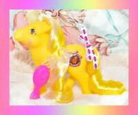 ❤️My Little Pony MLP G1 Vintage 1987 Princess Pony Moondust Yellow Earth Pony❤️
