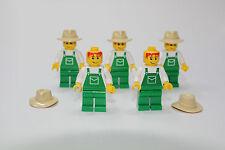 LEGO FARMER MINIFIGURE POLYBAG # 4899  Minifigure NEW (X5)