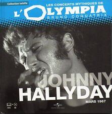☆ Johnny HALLYDAYOlympia Mars 1967 - Livre & CD Edition limitée RARE  ☆