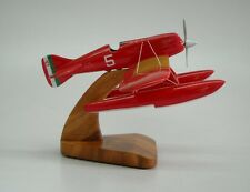 M-39 Macchi Seaplane Racer Airplane Handcrafted Wood Model Regular New