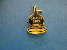 GRAND PRIX  logo  -  hat (lapel) pin