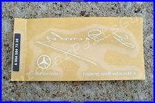 Mercedes-Benz Windshield Decal Sticker E S SL SLK SLS CLK CLS C GLK GL ML Class