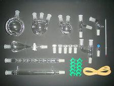 New advanced chemistry lab glassware kit,24/40