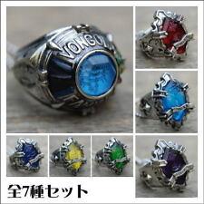 Takara Tomy Hitman Reborn New Ring Collection Set x 7