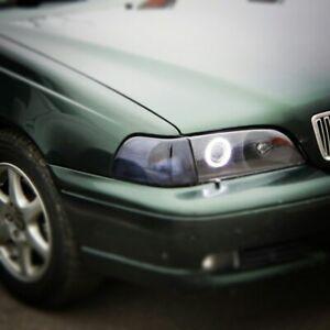 Volvo S70 Polycarbonate Headlight Covers for retrofit, pair.