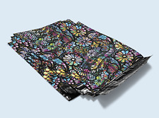 Designer Custom Poly Mailer Shipping Bags Packaging 10x13 Stained Glass Lace