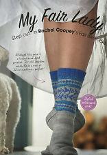 KNITTING PATTERN Ladies Fair Isle Fish Motif Ankle Socks PATTERN TO MAKE