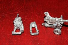 Warhammer 40k Imperial Guards Tallarn Autocannon incomplete (metal) unpainted