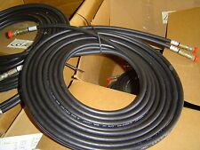 "hydraulic dual hose 320"" inches long 26+ foot 1/4"" I.D. 3000 psi car hauler trlr"
