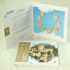 San Marino Monedas KMS Set de Monedas Corrientes 2019 Bu st 1 Céntimos - 2 Euro