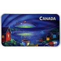 2020 Canada $20 Clarenville Event UFO Glow-in-the-Dark 1 oz Silver Bar 5000 Made