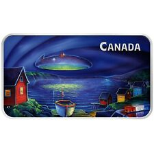 2020 Canada $20 Clarenville Event UFO Glow-in-the-Dark 1 oz Silver Bar 5000 Made