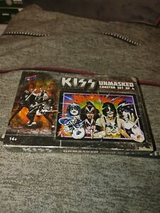 Kiss Unmasked (Coaster Set of 4) Brand New - Sealed