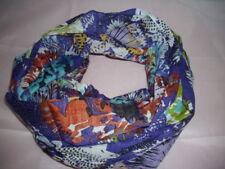 Bunte Damen-Schals & -Tücher aus 100% Baumwolle mit Blumenmuster