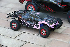 Custom Body Muddy Pink for Traxxas 1:16 Slash / e-Revo 1/16 Scale e Revo