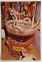 Haw Par Villa Singapore Infernal Majesty Tai-Shan Boiling Postcard (P329)