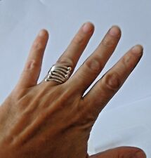 925 STERLING SILVER LONG RING size I   -