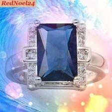 Signet Sapphire Fine Rings