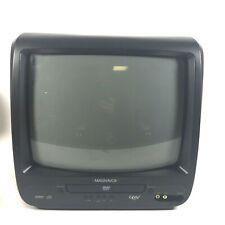 "Magnavox CD130MW9 13"" CRT TV DVD Combo Player No Remote Gaming RV Guest VTG"