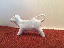 Cac Cow Bull Figurine Creamer White Ceramic