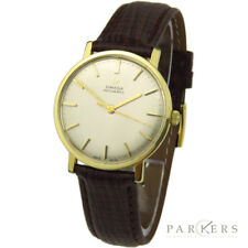 Reloj De Pulsera Omega De Ville vintgae 18K Oro Automático que data de alrededor de 1963